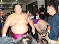御嶽海が2度目優勝 大相撲秋場所千秋楽