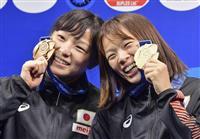 世界レスリング総括 「お家芸」女子の金は1個だけ 海外勢対策の強化急務
