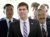 日米防衛相が初の電話会談 日米韓連携の重要性確認