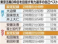 東京五輪マラソン代表、最後の1枠は誰が 来春まで続くタイム争い
