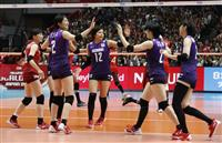 日本、ケニア下し3勝目 バレー女子W杯