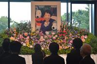 「全ての作品に優しさ」田辺聖子さん東京でお別れの会