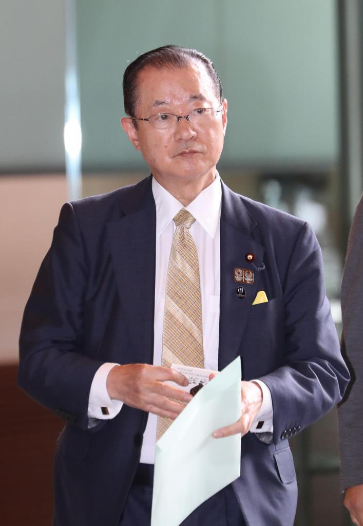日韓議員連盟幹事長の自民党の河村建夫元官房長官