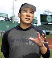 田中が22球の投球練習 次回先発は29日