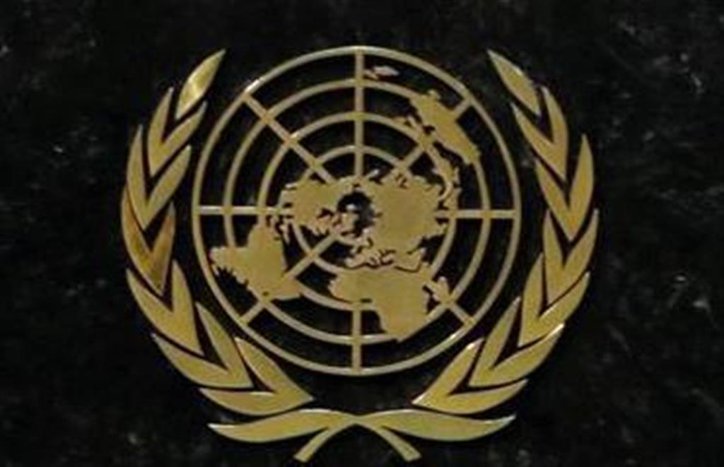 国連のロゴマーク