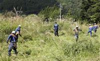 不明7歳女児の捜索続く 山梨・道志村のキャンプ場