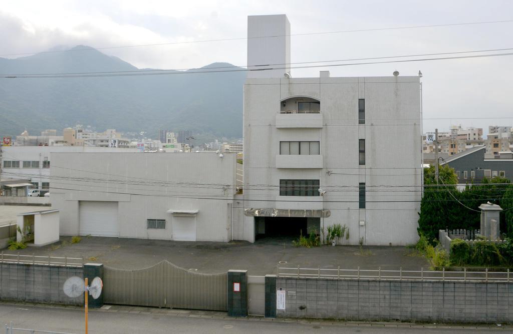 工藤会の本部事務所=26日午前、北九州市小倉北区