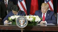 米農産物7800億円開放 貿易協定で首脳共同声明
