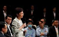 香港長官、市民と初対話 警察暴力の検証調査委に言及