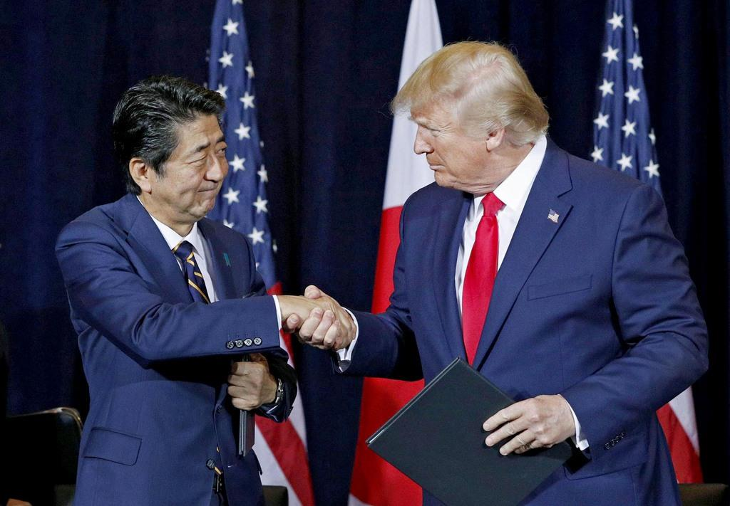 「日本のユニークな立場生かして」トランプ米大統領 安倍首相にイランとの話し合い継続を要…