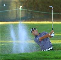 米男子ゴルフの松山英樹、波に乗れず 「思ったスタート切れなかった」