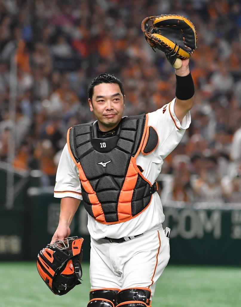 引退表明の巨人・阿部が4年ぶりマスク 本塁打で恩返し - 産経ニュース