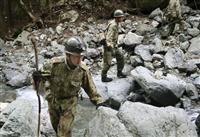 山梨、7歳女児捜索 自衛隊が撤収