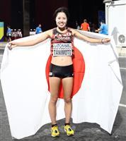 谷本、女子マラソン7位入賞 「粘りの走りができた」