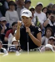 比嘉と辻が首位、渋野15位 ミヤギ女子ゴルフ第2日