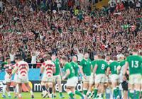 【ラグビーW杯】「驚くべき番狂わせ」とアイルランドの公共放送