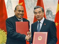 中国、キリバスと国交回復