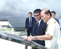 河野防衛相、玉城沖縄知事と会談 辺野古移設に理解求める
