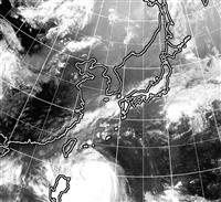 台風18号、沖縄へ 暴風、高波に警戒