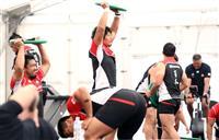 ラグビー日本代表、サモア戦へ都内で練習再開
