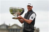 ペレスがツアー初優勝 男子ゴルフアルフレッド・ダンヒル・リンクス選手権