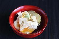 【料理と酒】栃木県日光名物 ゆばと焼きナスのあんかけ