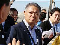 維新が福島原発視察 小泉環境相との国会論戦へ「理論武装」