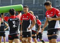 日本のトゥポウが復帰、サモア戦へ全31選手が練習