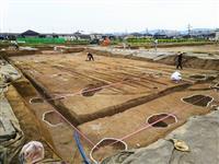 藤原京跡で貴族の邸宅跡が出土 推定130メートル四方