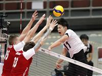 日本、ポーランドに黒星 バレー男子W杯