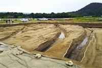 弥生時代前期の環濠出土 奈良・橿原