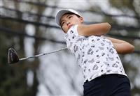 岡山首位、渋野と畑岡が7位 日本女子OPゴルフ第1日