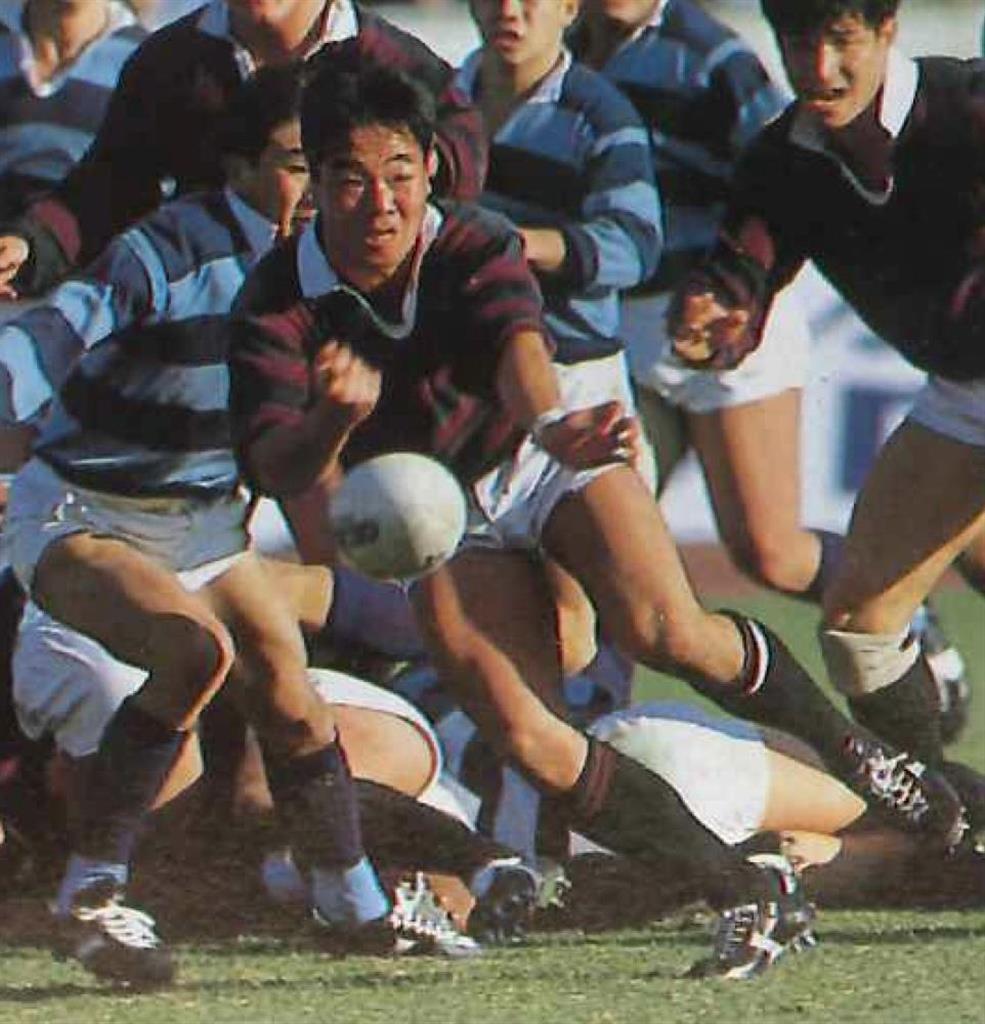 早稲田大で活躍した森島弘光さん。名フッカーとして知られた(本人提供)
