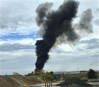 米東部でB17爆撃機が墜落事故