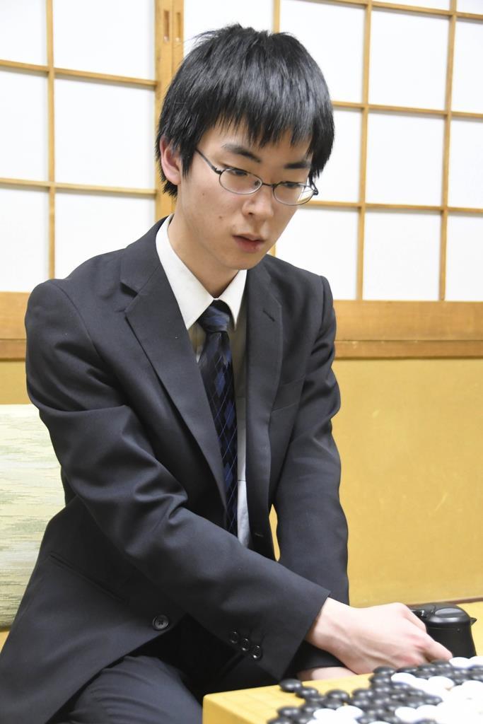 芝野虎丸八段(日本棋院提供)