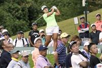 畑岡、ショット安定でボギーなし ゴルフ日本女子オープン