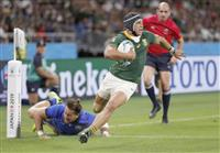 南アフリカが7トライ圧勝、イタリアに勝ち点10で並ぶ