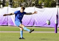 【ラグビーW杯】NZ、J・バレットがキック確認 新司令塔に高い信頼