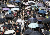 香港、マスク禁止の緊急法、裏目に 抗議激化