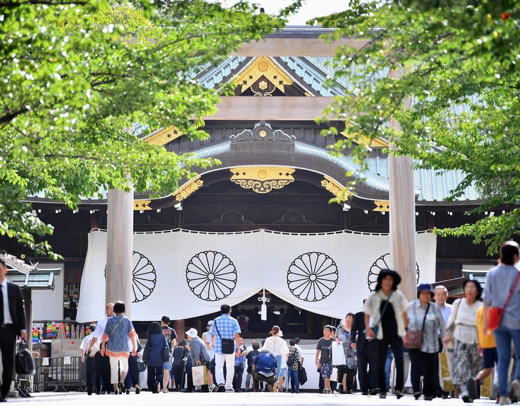 夕刊フジ写真 靖国神社