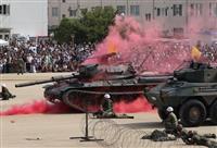 【動画あり】陸自中部方面隊が伊丹駐屯地で創隊59周年記念行事