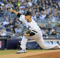 田中1失点、勝利投手に ヤンキースは地区シリーズ2連勝