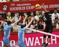 日本、アルゼンチンに勝ち3勝目 バレー男子W杯