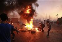 イラクの死者100人超 反政府デモ