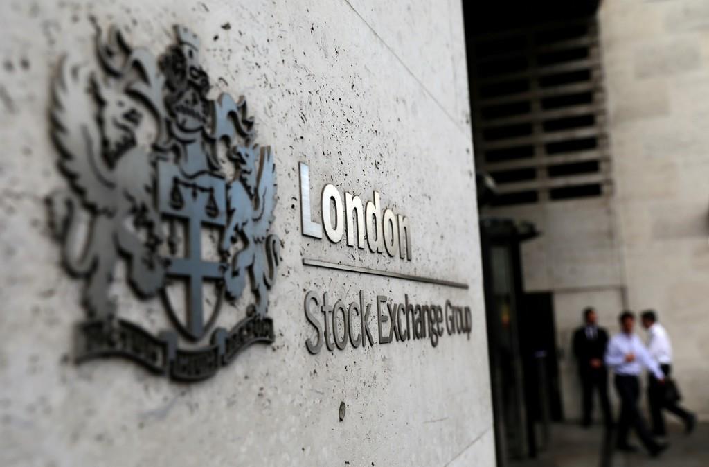 ロンドン証券取引所入り口(ロイター)