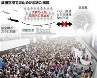 「陸の孤島」と化した成田空港 混乱回避の術はなかったのか