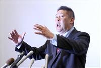 N国・立花氏、参院埼玉補選「十分勝てる選挙」 上田氏と一騎打ちへ