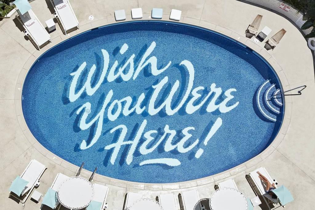 星野リゾートが来年1月にハワイで開業する新たなホテルのプール(同社提供)