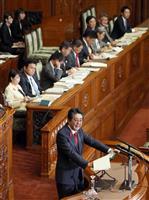 首相「人生100年、果断に改革」 参院代表質問