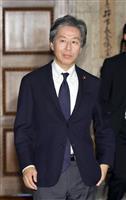立民・安住氏「コメントしない」 菅元首相の人事撤回要求に